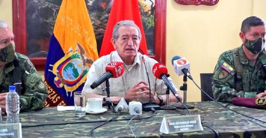 Cortesía del Ejército Ecuatoriano
