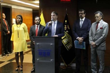 Encuentro. Representantes del Estado y de Odebrecht se sentaron a definir los términos de la negociación. Foto: La Hora