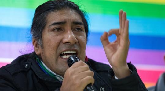 Indígenas se movilizan ante incertidumbre y sospechas de fraude Foto EFE