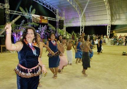 El festival de danza terminó con el triunfo del grupo de la comunidad shuar Santa Elena. Foto: El Universo