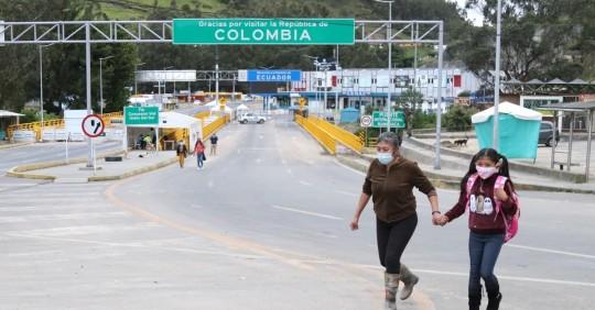 La Cancillería mantiene diálogos con Colombia para la apertura de la frontera / Foto: EFE