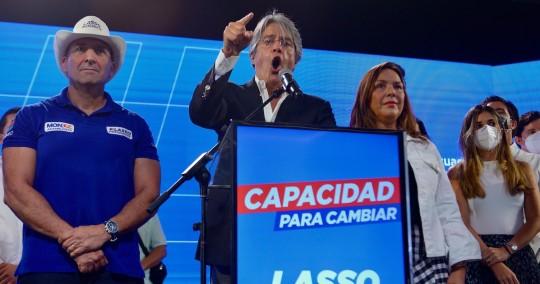 Yaku Pérez mantiene ventaja de 12.159 votos sobre Guillermo Lasso / Foto EFE