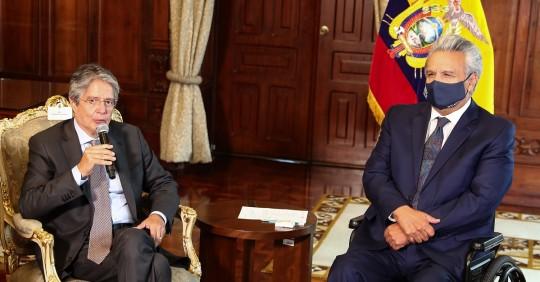 """Moreno le advierte a Lasso que la """"mesa no está servida"""" / Foto: EFE"""