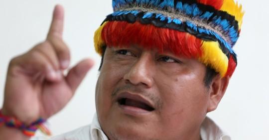 El balotaje en Ecuador divide al movimiento indígena tras un logro histórico / Foto: EFE