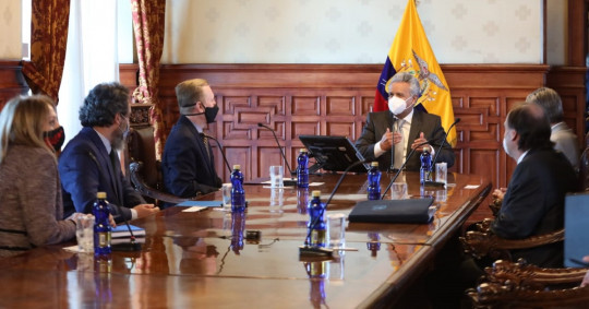 Estados Unidos espera seguir cooperando con el próximo Gobierno de Ecuador / Foto: Cortesía de la Embajada de Estados Unidos en Ecuador