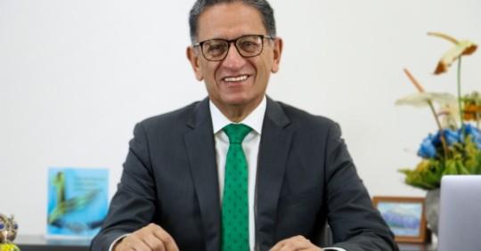 Guillermo Lasso designa a Juan Carlos Bermeo como ministro de Energía/ Foto: cortesía Ministerio de Energía