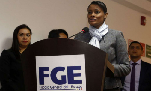 Diana Salazar pidió información económica de Glas y de exministros. Foto: Ecuavisa