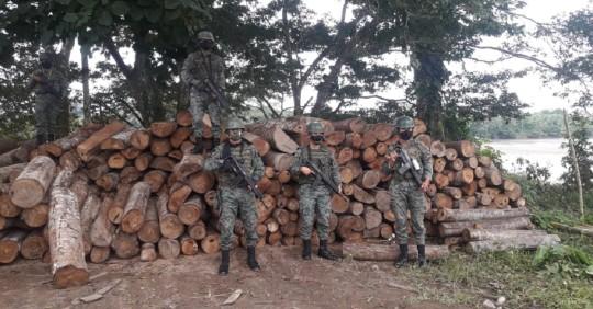 Cortesía Fuerzas Armadas del Ecuador