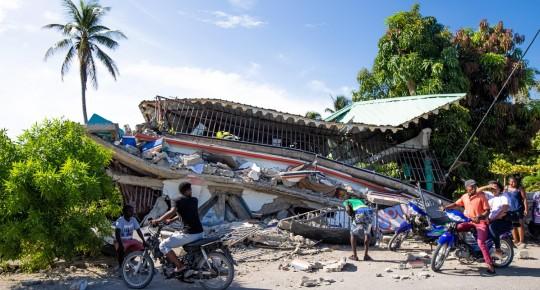 Ecuador expresa solidaridad con Haití y alista ayuda humanitaria / Foto: EFE
