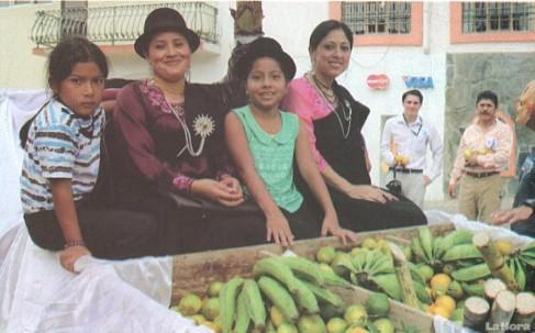 El Pachamama Raymi es la fiesta de agradecimiento a la Madre Tierra que se realiza en abril. Foto: La Hora