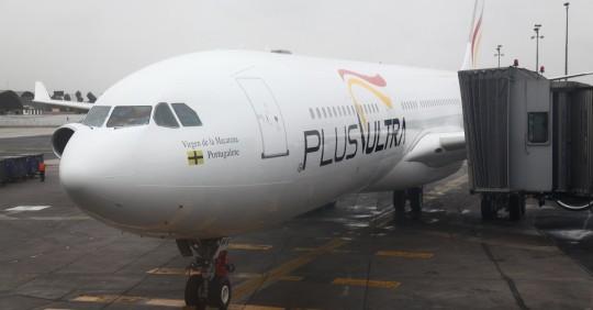 Plus Ultra retomará su ruta entre España y Ecuador a partir de julio / Foto: EFE