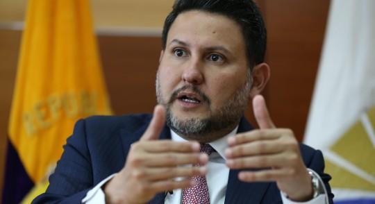 Lenín Moreno designa a Gabriel Martínez como ministro de Gobierno / Foto EFE