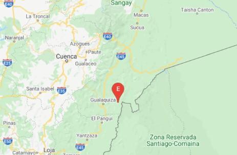 Sismos de magnitudes 5 y 4 se registraron en Morona Santiago / Foto: cortesía Instituto Geofísico