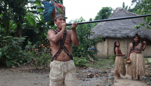 Comunidades indígenas de Pastaza le apuestan al turismo comunitario / Foto El Oriente