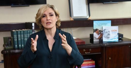 Cynthia Viteri dice que el Gobierno bloquea la importación de vacunas / Foto: EFE