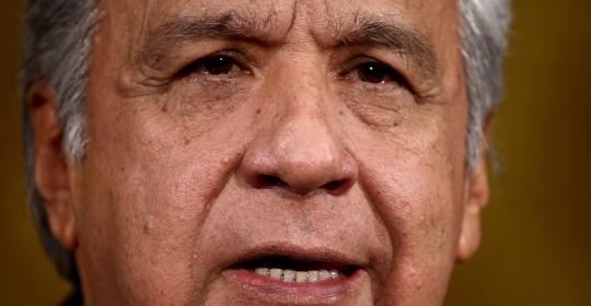 La Defensoría del Pueblo pide prohibir la salida de Lenín Moreno del país / Foto: EFE