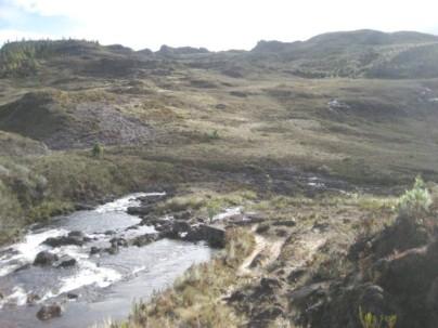 Parte del territorio ubicado en el cantón Oña, declarada Área Comunitaria Protegida. Foto: El Mecurio