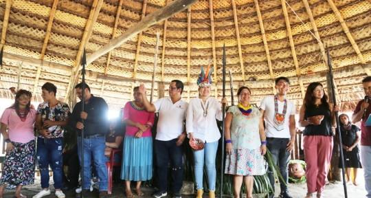 La ceremonia ancestral Kamari Ista fue declarada patrimonio cultural / Foto: CNE Pastaza