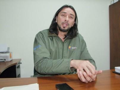 Juan Pablo Rivera, coordinador zonal del Ministerio del Ambiente, expresa sus preocupaciones en torno al tema. Foto: El Mercurio