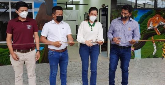 Uñushi fue inaugurado en Morona Santiago / Foto: cortesía Ministerio de Ambiente