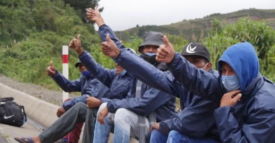 El 31 % de los venezolanos entra al país por pasos irregulares, según OIM / Foto: EFE