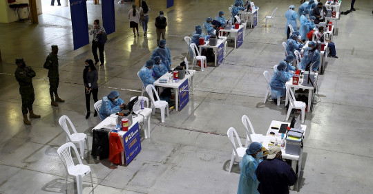 CNE colaborará en el plan de vacunación del nuevo gobierno / Foto: EFE