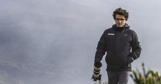 Robinski, el ecuatoriano que retrata las leyendas de los volcanes`/ Foto: EFE