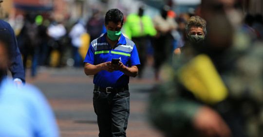 Ecuador llega a 185.643 positivos de covid-19, tras sumar 767 nuevos casos / Foto: EFE