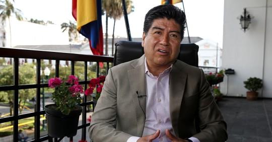 Alcalde de Quito denuncia ante la Fiscalía actos vandálicos del 12 de octubre / Foto: EFE