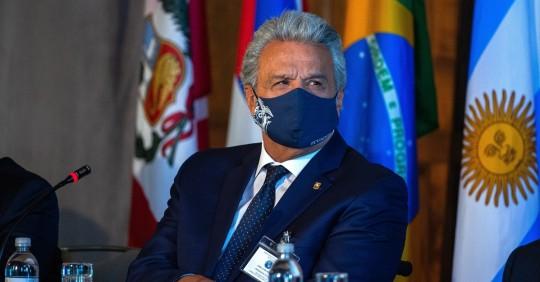 """Lenín Moreno denuncia """"grosera"""" intromisión de Maduro en Colombia / Foto: EFE"""