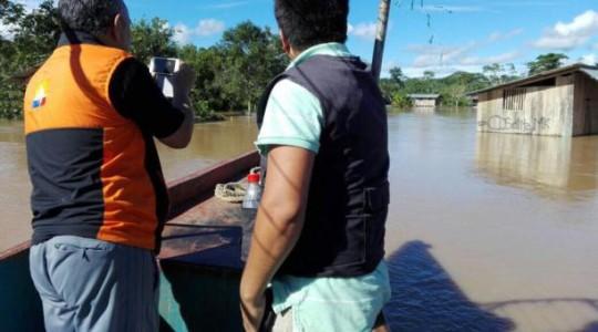 Las crecientes de los ríos en Morona Santiago han dejado damnificadas a las familias asentadas cerca a los afluentes. Foto:  El Comercio
