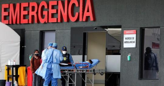 Ecuador avanza en el cierre de salas covid gracias a la vacunación / Foto: EFE