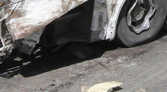 Imagen referencial. Un bus se accidentó en la vía Patuca-San José de Morona este 16 de enero de 2019  dejando un fallecido y 17 heridos. Foto: El Comercio