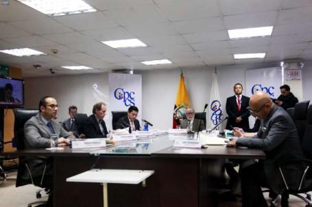 La decisión se tomó por unanimidad en el Pleno del Consejo de Participación de transición. Foto: La Hora