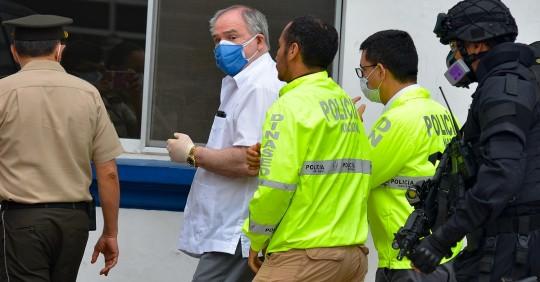 La Fiscalía General vincula a cuatro personas más en caso contra Bucaram / Foto: EFE