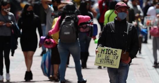 Ecuador supera el umbral de los 400.000 contagios por covid-19 / Foto: EFE
