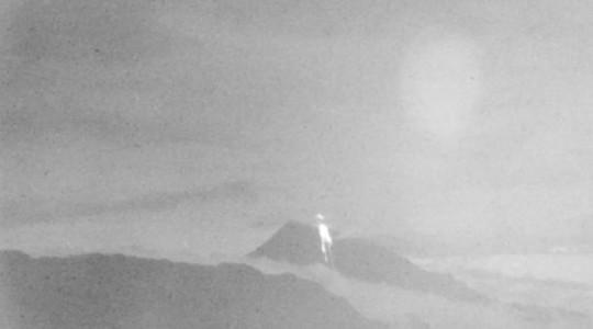 El Sangay es el último volcán del sur de Ecuador que está en proceso de erupción desde el 7 de mayo del 2019. Foto: Captura / El Comercio