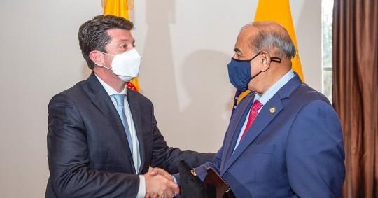 Ecuador y Colombia acuerdan fortalecer la lucha contra el crimen trasnacional / Foto:EFE