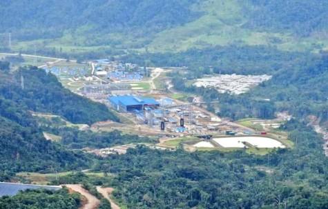 SECTOR. El proyecto minero Mirador está ubicado en la parroquia Tundayme del cantón El Pangui. Foto: La Hora