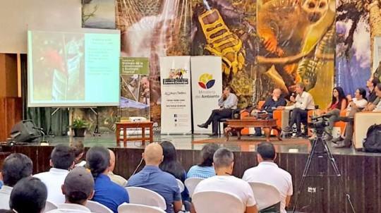 En el encuentro se resaltó la riqueza natural que posee el Alto Nangaritza. Foto: La Hora