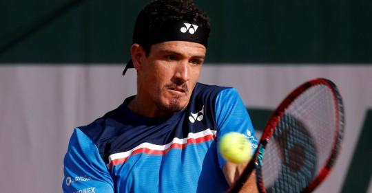 Emilio Gómez gana su primer partido de la fase de calificación en Roland Garros / Foto: EFE