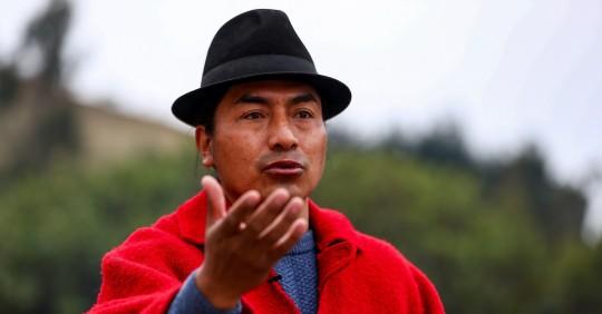Indígenas se suman a la protesta de sindicatos y maestros / Foto: EFE