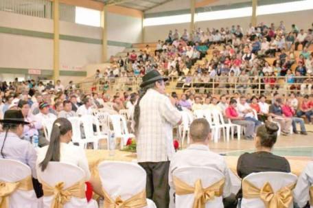 La última Asamblea se la llevó a cabo en el cantón Yantzaza. Foto: La Hora