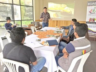 Técnicos de Turismo de ocho municipios de la provincia participaron en una reunión donde se trató la Propuesta de Desarrollo Turístico. Foto: La Hora