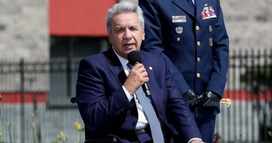 Moreno celebra la caída del riesgo país por debajo los 1.000 puntos / Foto: EFE