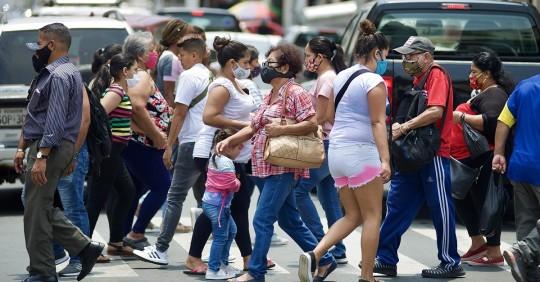 Ecuador vuelve a superar los mil casos en un día y suma 218.385 positivos / Foto: EFE