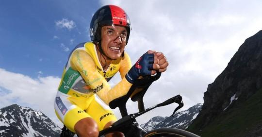 Richard Carapaz cree haber resuelto el déficit de la contrarreloj de cara al Tour/ Foto: cortesía Richard Carapaz
