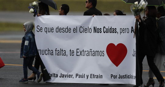 Familiares de periodistas asesinados, insatisfechos con sentencia colombiana / Foto: EFE