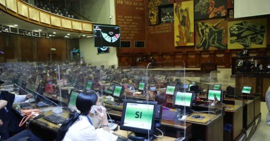 La Asamblea critica actitud del gobierno en torno al presupuesto / Foto: cortesía Asamblea Nacional