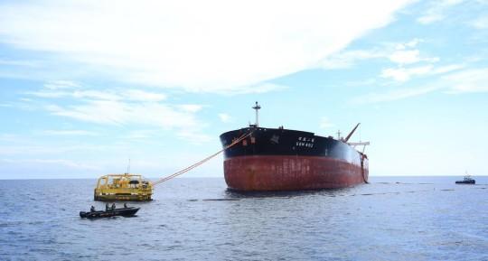 Ecuador exportó por primera vez crudo Oriente a través del Terminal Marítimo de OCP / Foto cortesía EP Petroecuador)